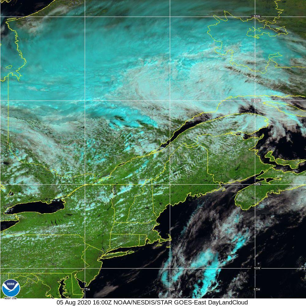 Day Land Cloud - EUMETSAT Natural Color - 05 Aug 2020 - 1600 UTC