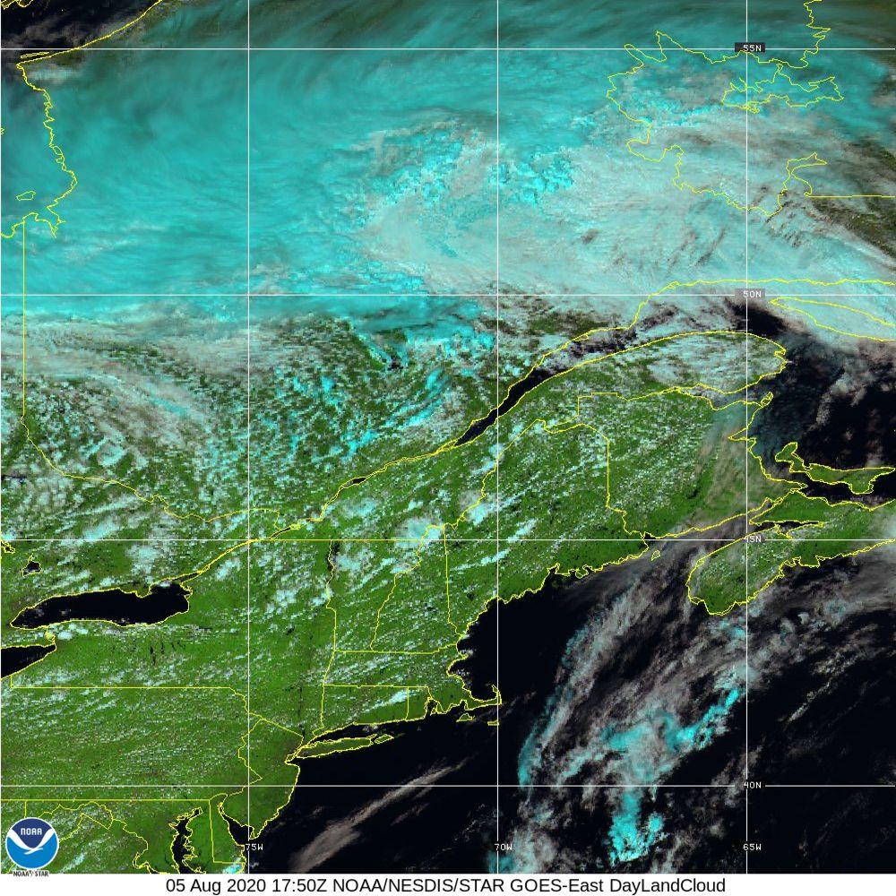 Day Land Cloud - EUMETSAT Natural Color - 05 Aug 2020 - 1750 UTC