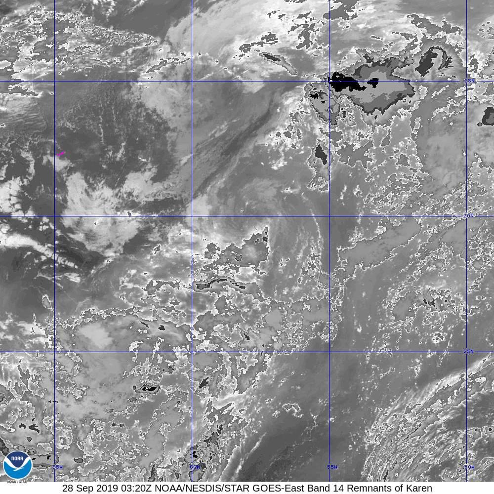 Band 14 - 11.2 µm - Longwave Window - IR - 28 Sep 2019 - 0320 UTC