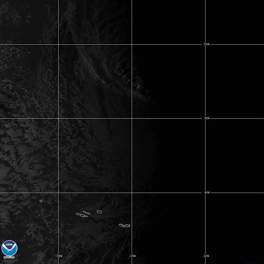 Band 2 - 0.64 µm - Red - Visible - 02 Oct 2019 - 1910 UTC