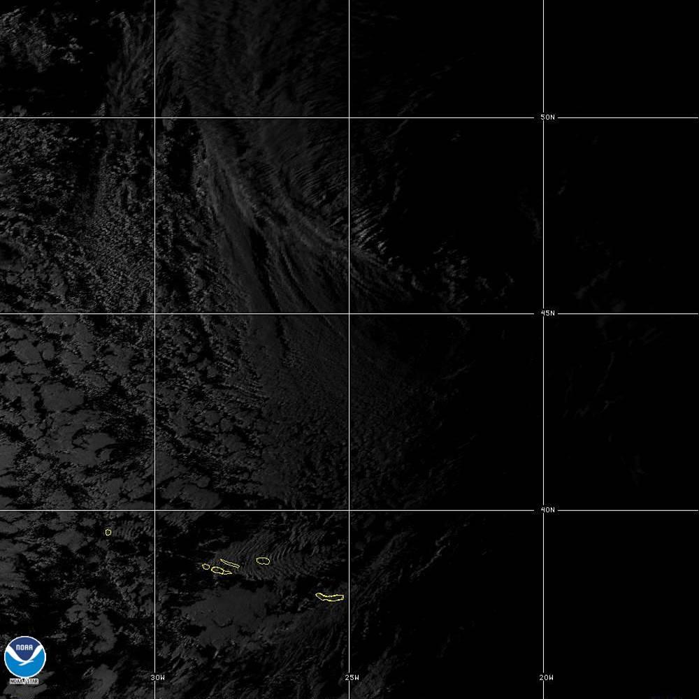 Band 5 - 1.6 µm - Snow/Ice - Near IR - 02 Oct 2019 - 1900 UTC