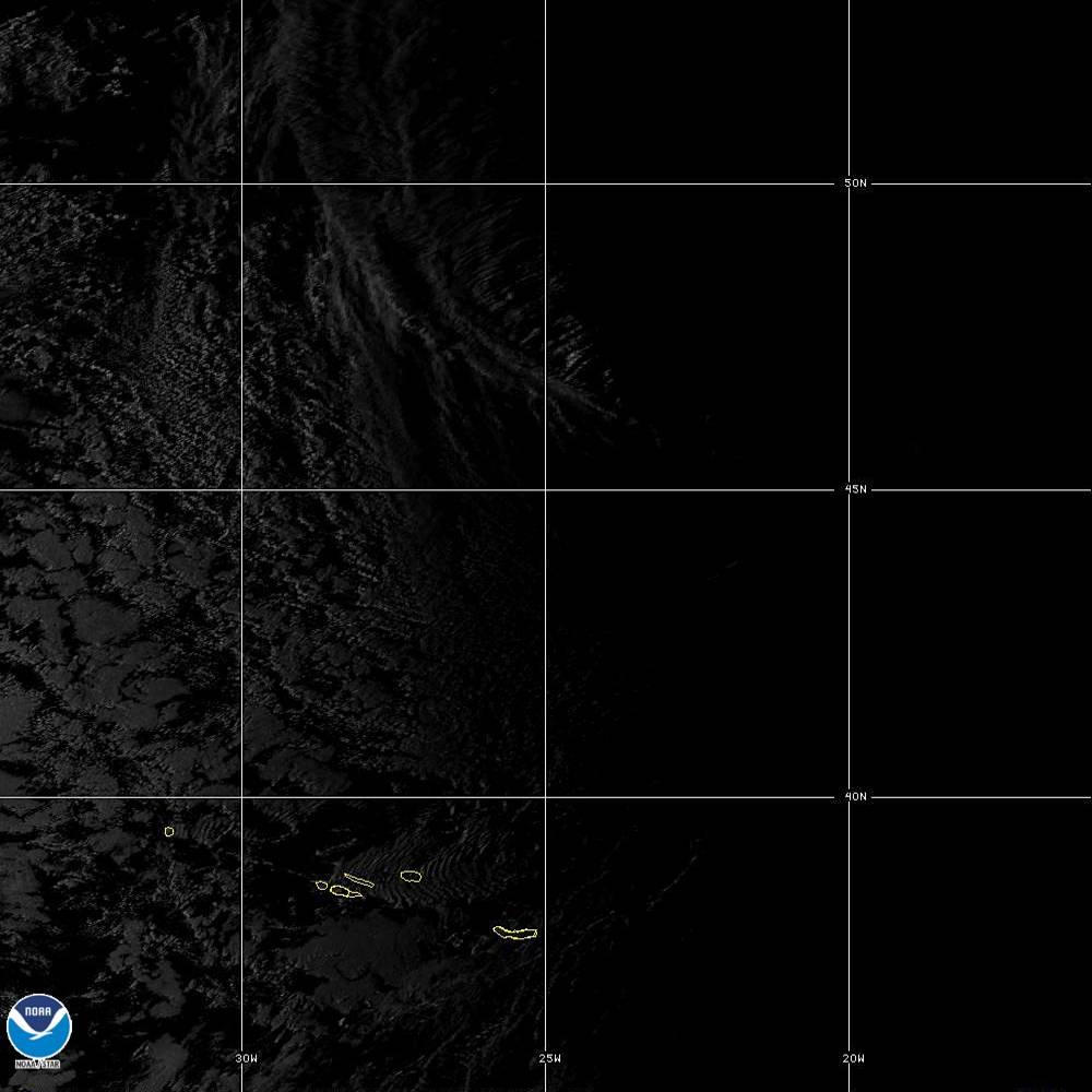 Band 5 - 1.6 µm - Snow/Ice - Near IR - 02 Oct 2019 - 1910 UTC