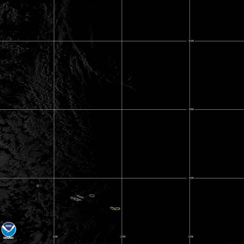 Band 5 - 1.6 µm - Snow/Ice - Near IR - 02 Oct 2019 - 1920 UTC