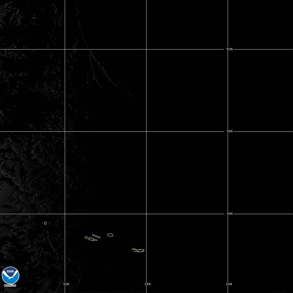 Band 5 - 1.6 µm - Snow/Ice - Near IR - 02 Oct 2019 - 1930 UTC