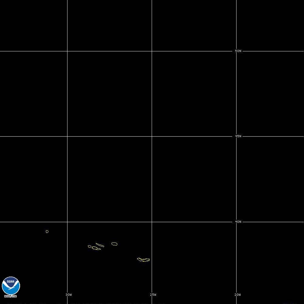 Band 5 - 1.6 µm - Snow/Ice - Near IR - 02 Oct 2019 - 2250 UTC