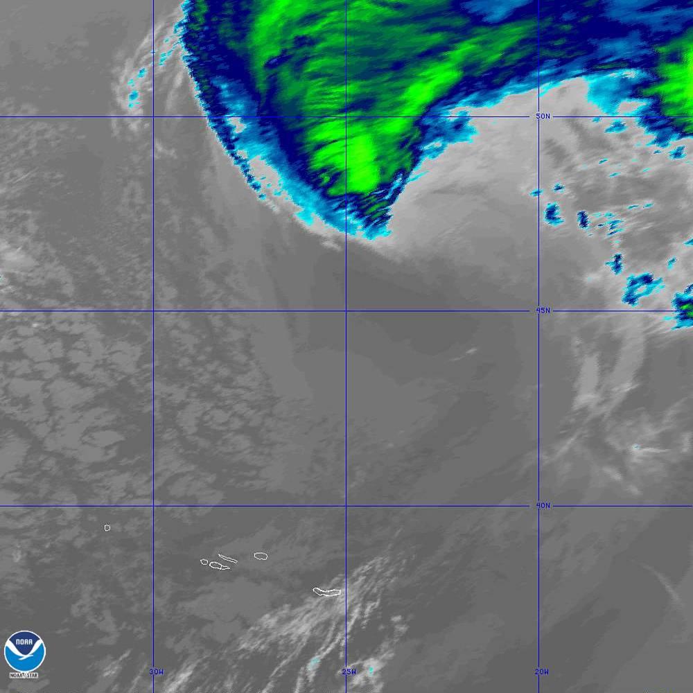Band 11 - 8.4 µm - Cloud Top - IR - 02 Oct 2019 - 1920 UTC