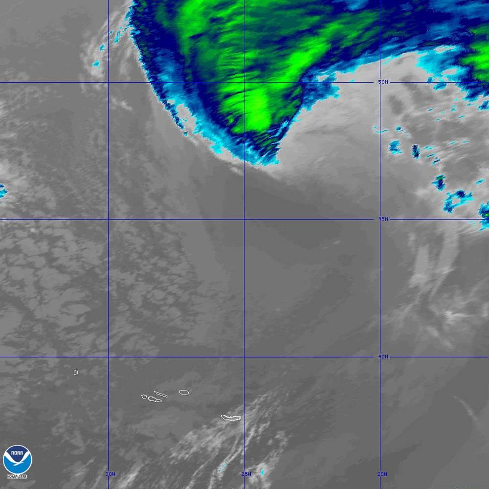 Band 11 - 8.4 µm - Cloud Top - IR - 02 Oct 2019 - 1930 UTC
