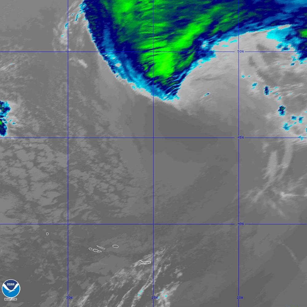 Band 11 - 8.4 µm - Cloud Top - IR - 02 Oct 2019 - 1950 UTC