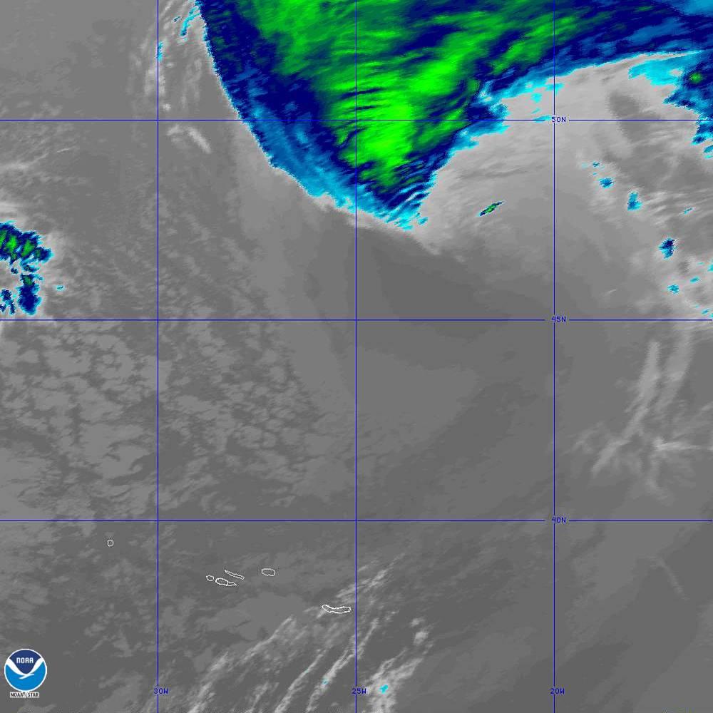Band 11 - 8.4 µm - Cloud Top - IR - 02 Oct 2019 - 2010 UTC