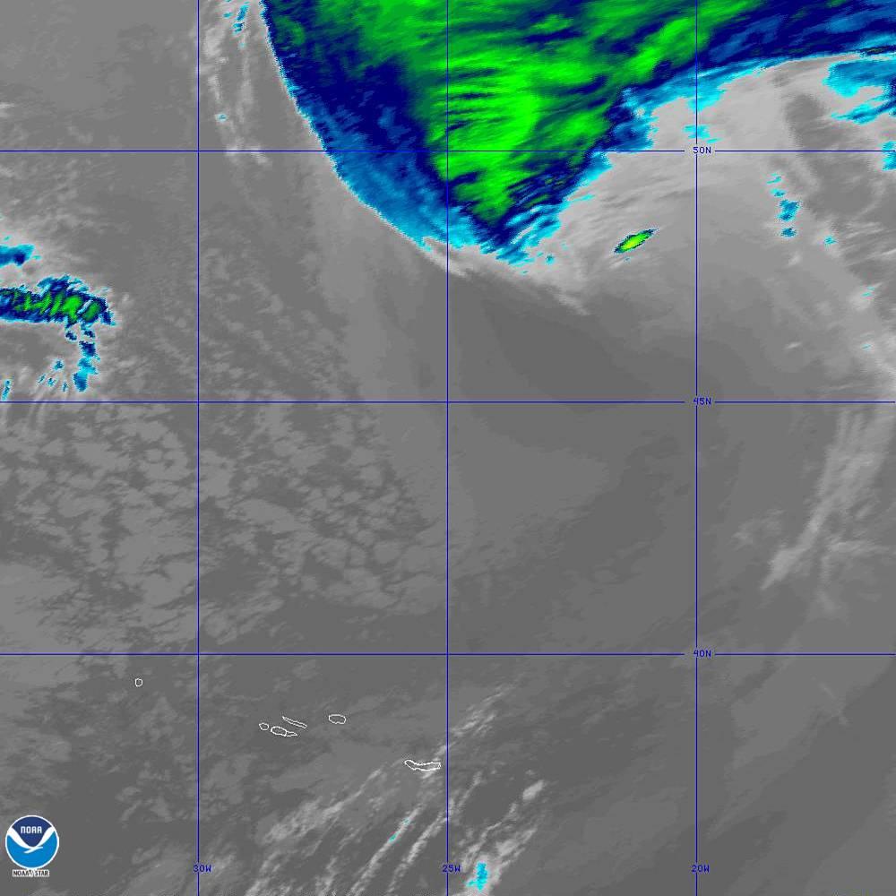 Band 11 - 8.4 µm - Cloud Top - IR - 02 Oct 2019 - 2040 UTC