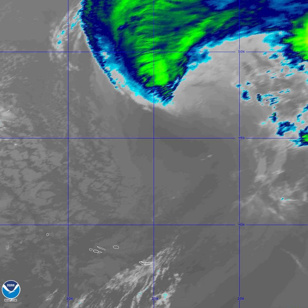 Band 15 - 12.3 µm - Dirty Longwave Window - IR - 02 Oct 2019 - 1920 UTC