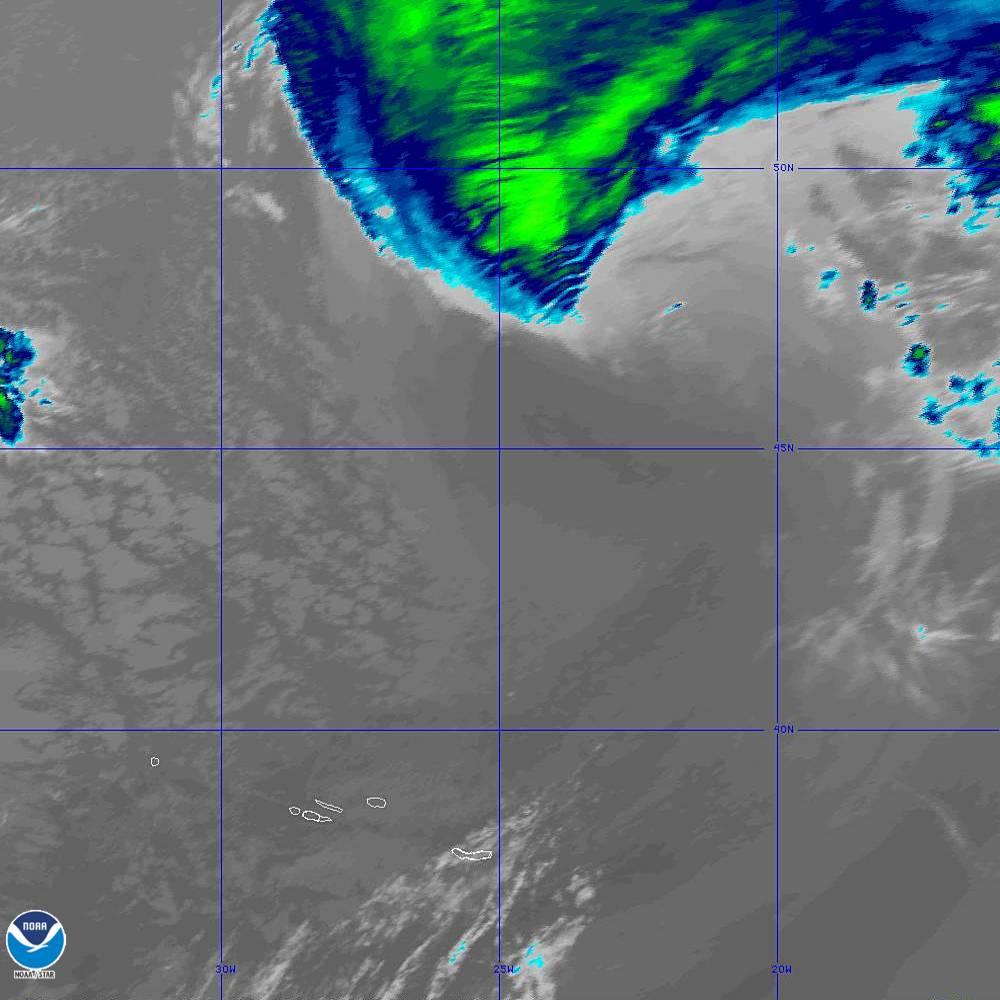 Band 15 - 12.3 µm - Dirty Longwave Window - IR - 02 Oct 2019 - 1950 UTC