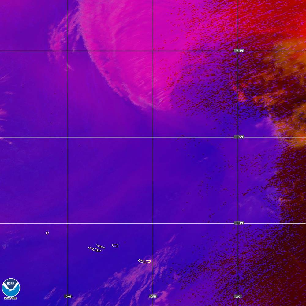 Day Convection - RGB used to identify areas of rapid intensification - 02 Oct 2019 - 1910 UTC