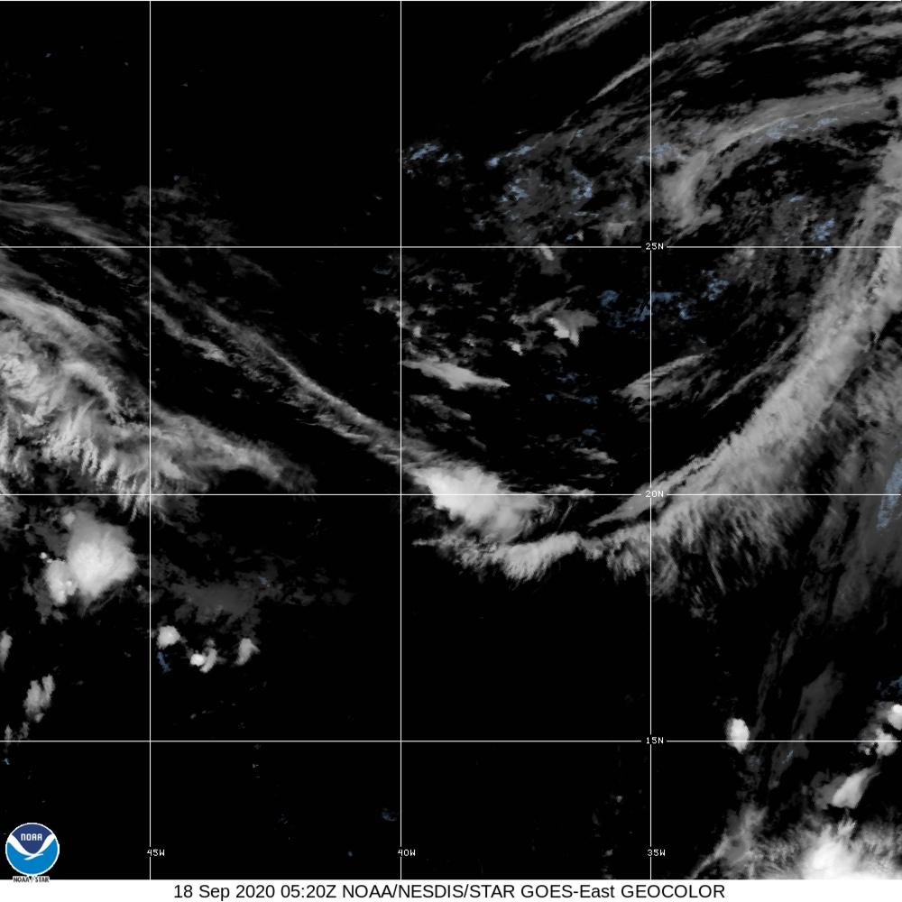 GeoColor - True Color daytime, multispectral IR at night - 18 Sep 2020 - 0520 UTC