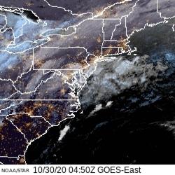 AVN Enhanced Satellite Image
