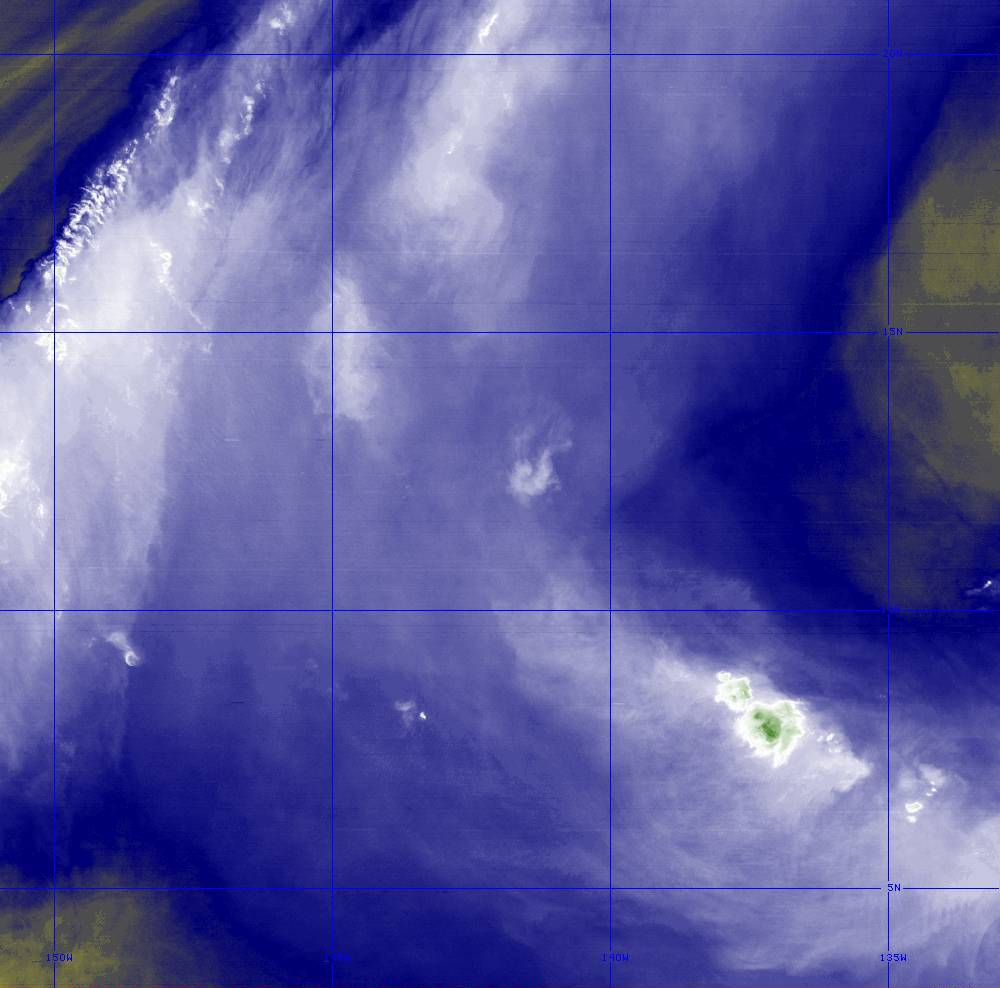 Band 8 - 6.2 µm - Upper-Level Water Vapor - IR  - 28 Jun 2020 - 1240 UTC