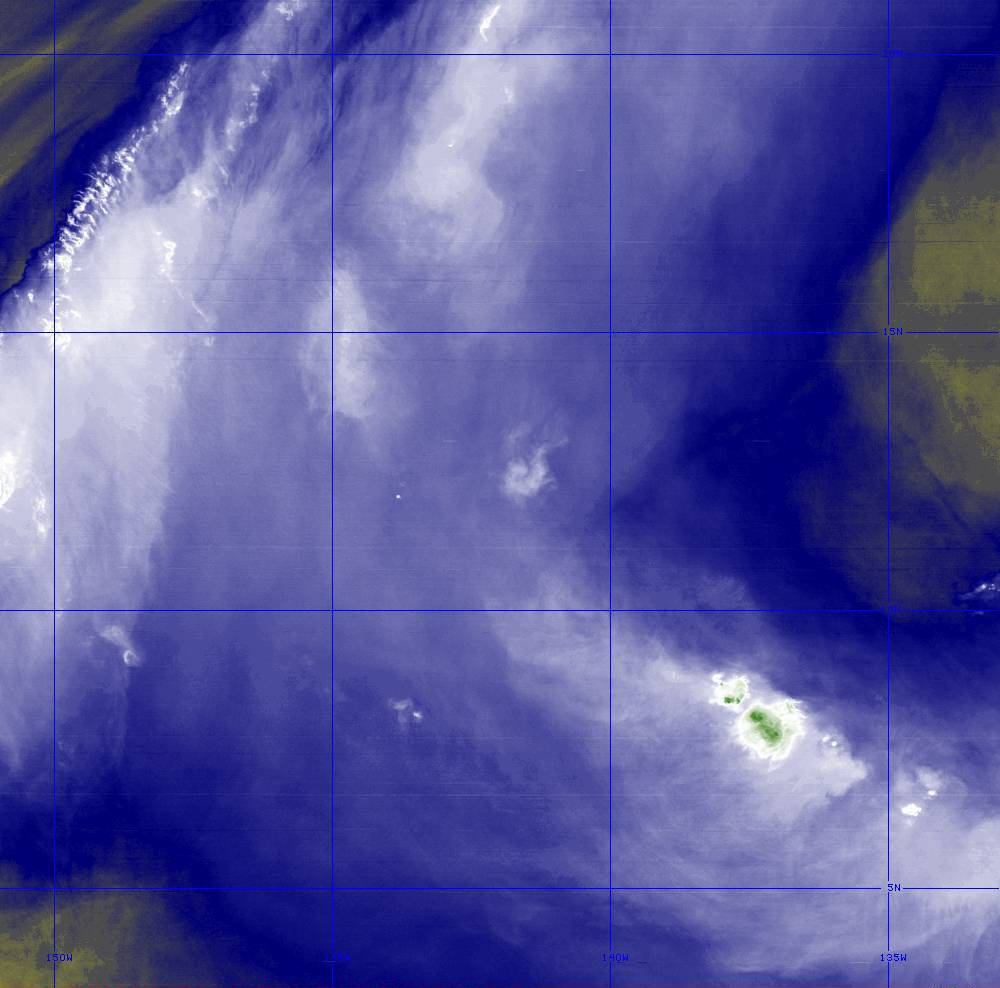 Band 8 - 6.2 µm - Upper-Level Water Vapor - IR  - 28 Jun 2020 - 1300 UTC