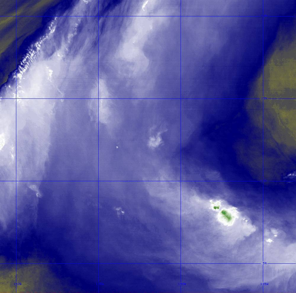 Band 8 - 6.2 µm - Upper-Level Water Vapor - IR  - 28 Jun 2020 - 1310 UTC