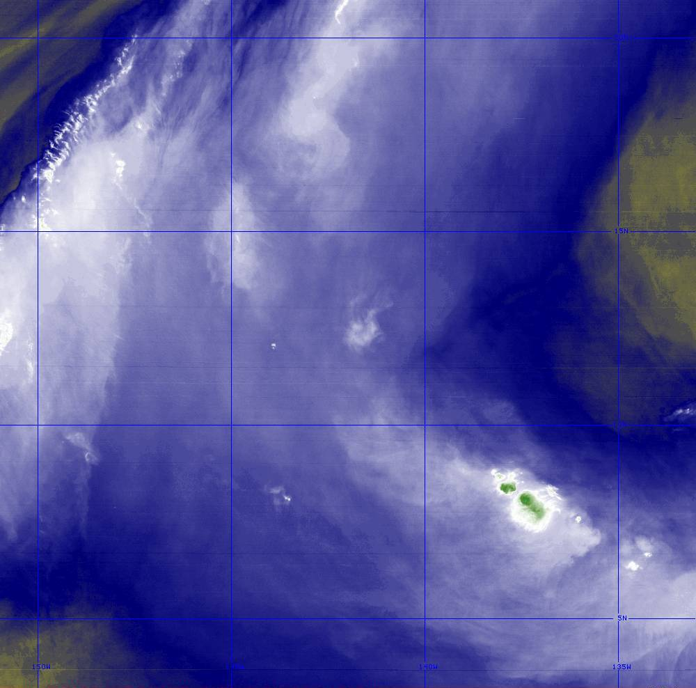 Band 8 - 6.2 µm - Upper-Level Water Vapor - IR  - 28 Jun 2020 - 1320 UTC