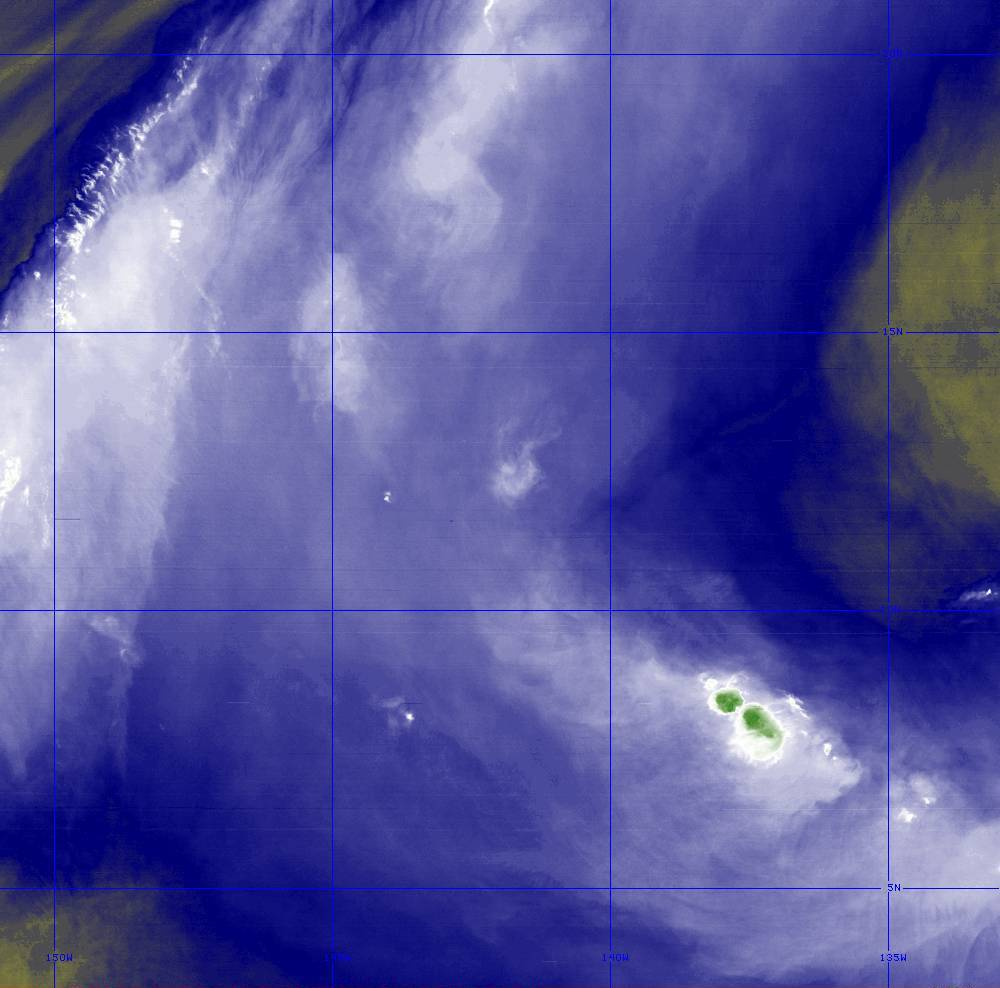 Band 8 - 6.2 µm - Upper-Level Water Vapor - IR  - 28 Jun 2020 - 1340 UTC