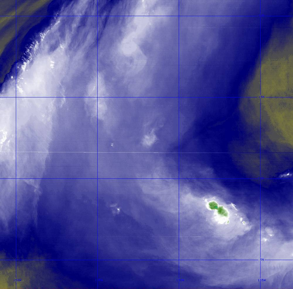 Band 8 - 6.2 µm - Upper-Level Water Vapor - IR  - 28 Jun 2020 - 1400 UTC