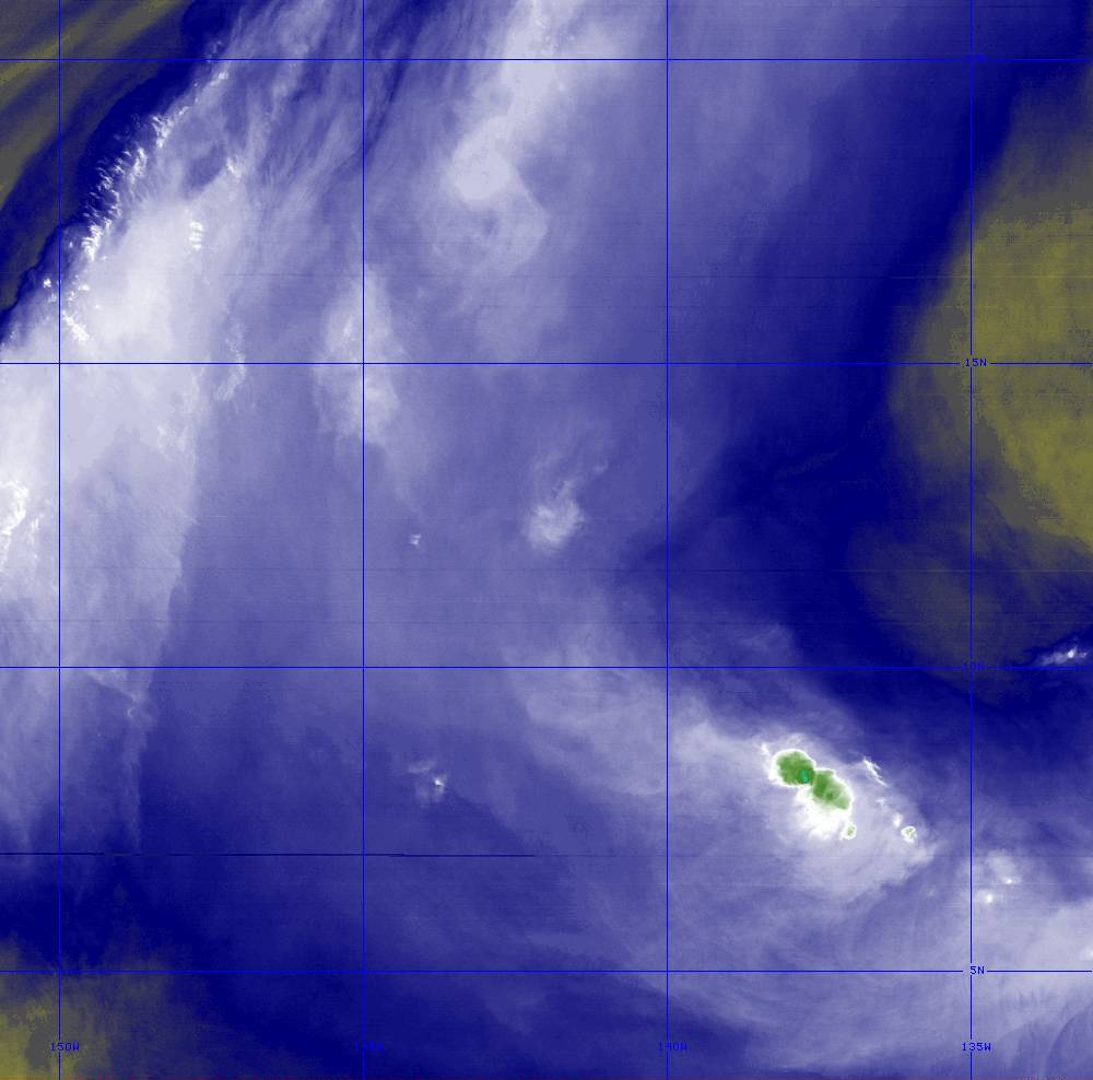 Band 8 - 6.2 µm - Upper-Level Water Vapor - IR  - 28 Jun 2020 - 1410 UTC