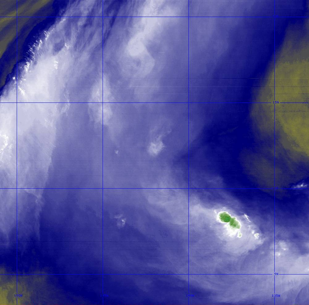 Band 8 - 6.2 µm - Upper-Level Water Vapor - IR  - 28 Jun 2020 - 1420 UTC