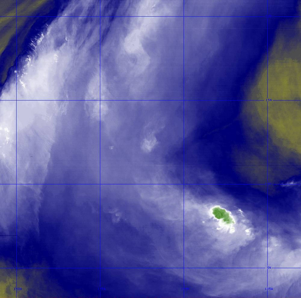 Band 8 - 6.2 µm - Upper-Level Water Vapor - IR  - 28 Jun 2020 - 1450 UTC