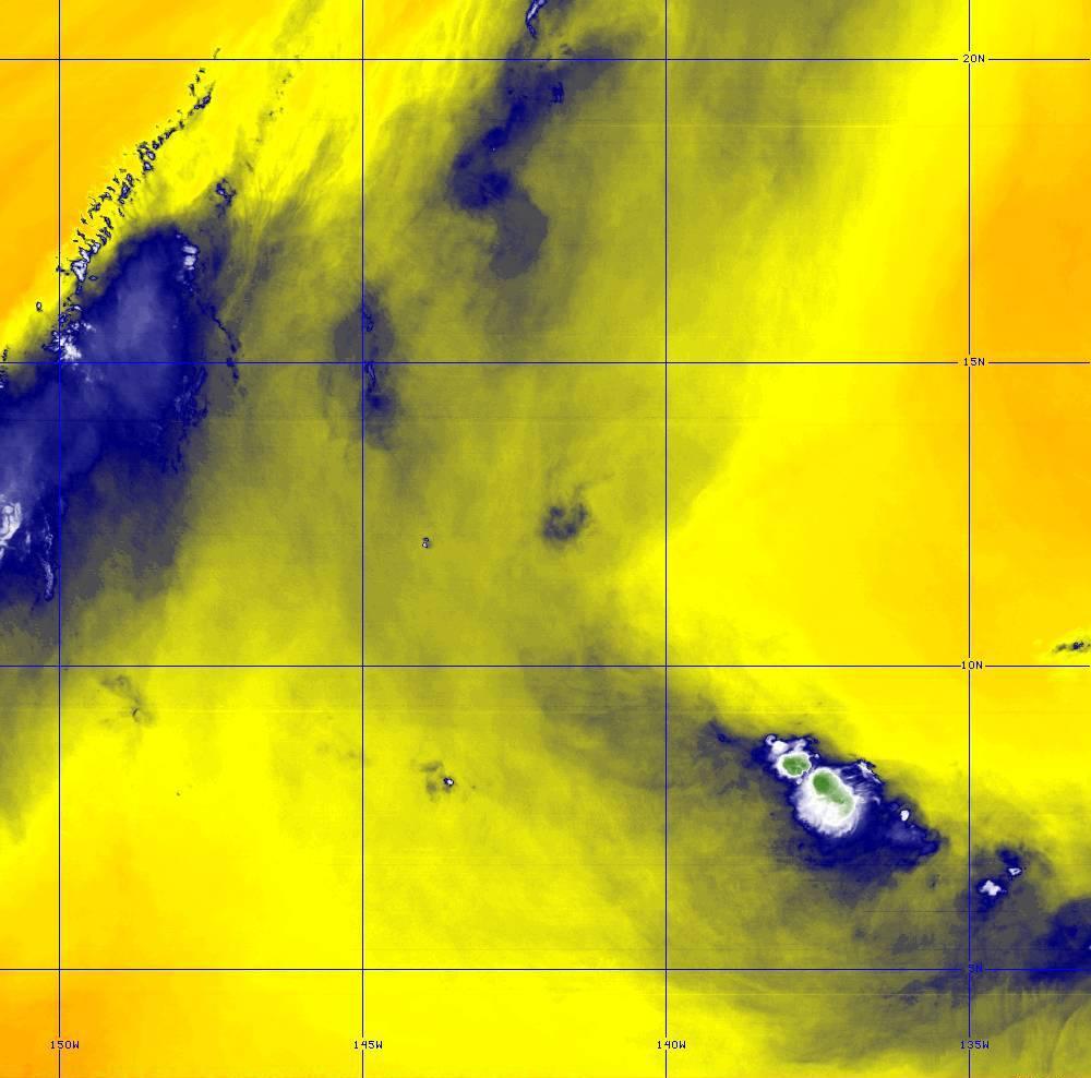 Band 9 - 6.9 µm - Mid-Level Water Vapor - IR  - 28 Jun 2020 - 1330 UTC