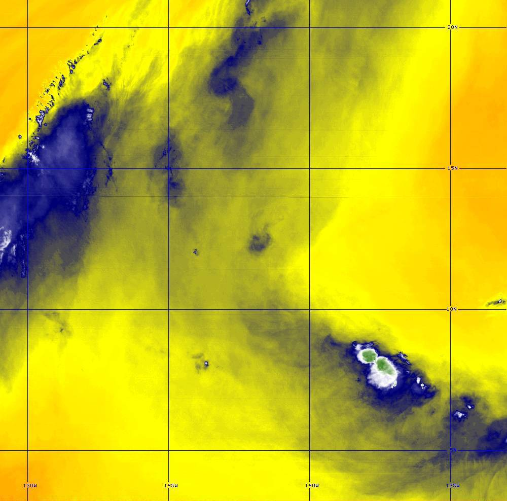 Band 9 - 6.9 µm - Mid-Level Water Vapor - IR  - 28 Jun 2020 - 1350 UTC