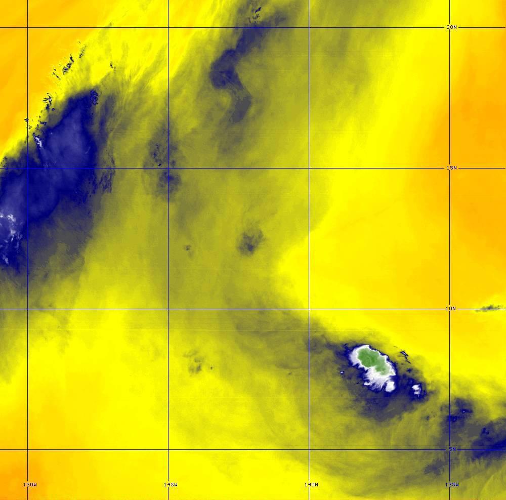 Band 9 - 6.9 µm - Mid-Level Water Vapor - IR  - 28 Jun 2020 - 1450 UTC