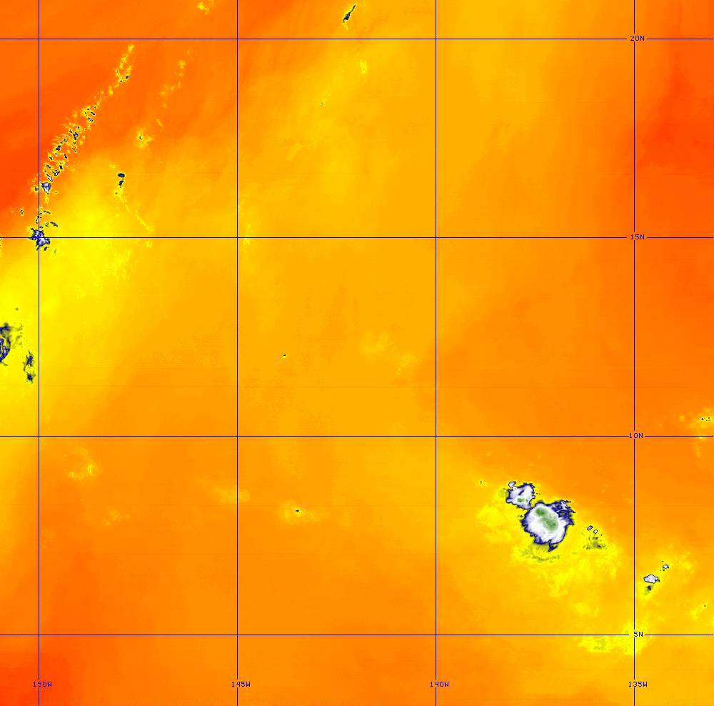 Band 10 - 7.3 µm - Lower-level Water Vapor - IR - 28 Jun 2020 - 1300 UTC