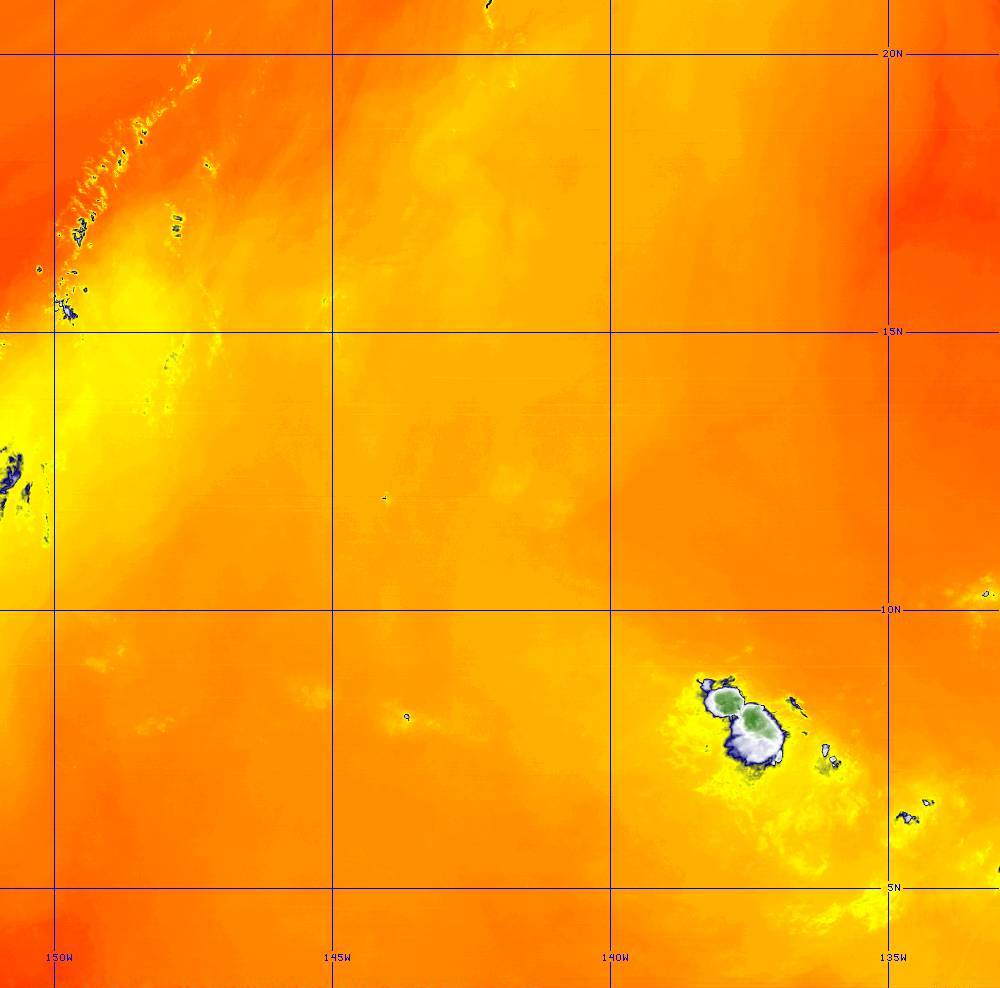 Band 10 - 7.3 µm - Lower-level Water Vapor - IR - 28 Jun 2020 - 1350 UTC