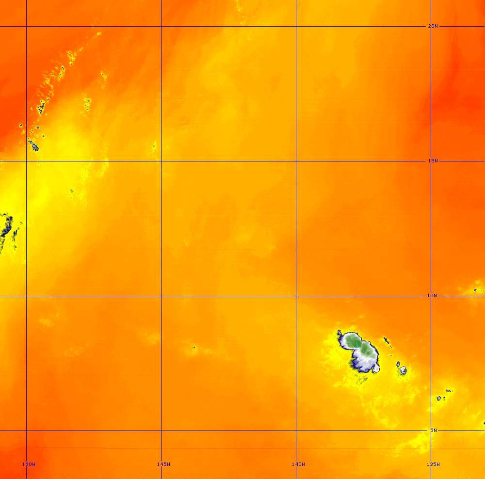 Band 10 - 7.3 µm - Lower-level Water Vapor - IR - 28 Jun 2020 - 1410 UTC