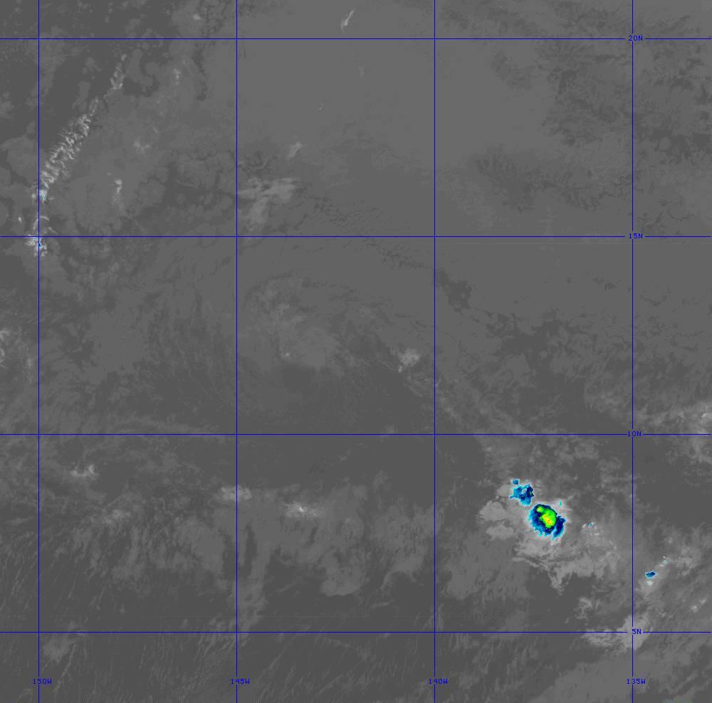Band 11 - 8.4 µm - Cloud Top - IR - 28 Jun 2020 - 1240 UTC
