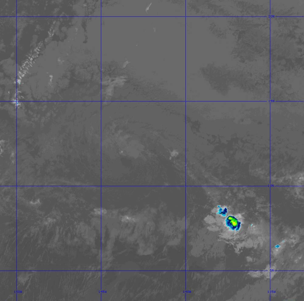 Band 11 - 8.4 µm - Cloud Top - IR - 28 Jun 2020 - 1250 UTC