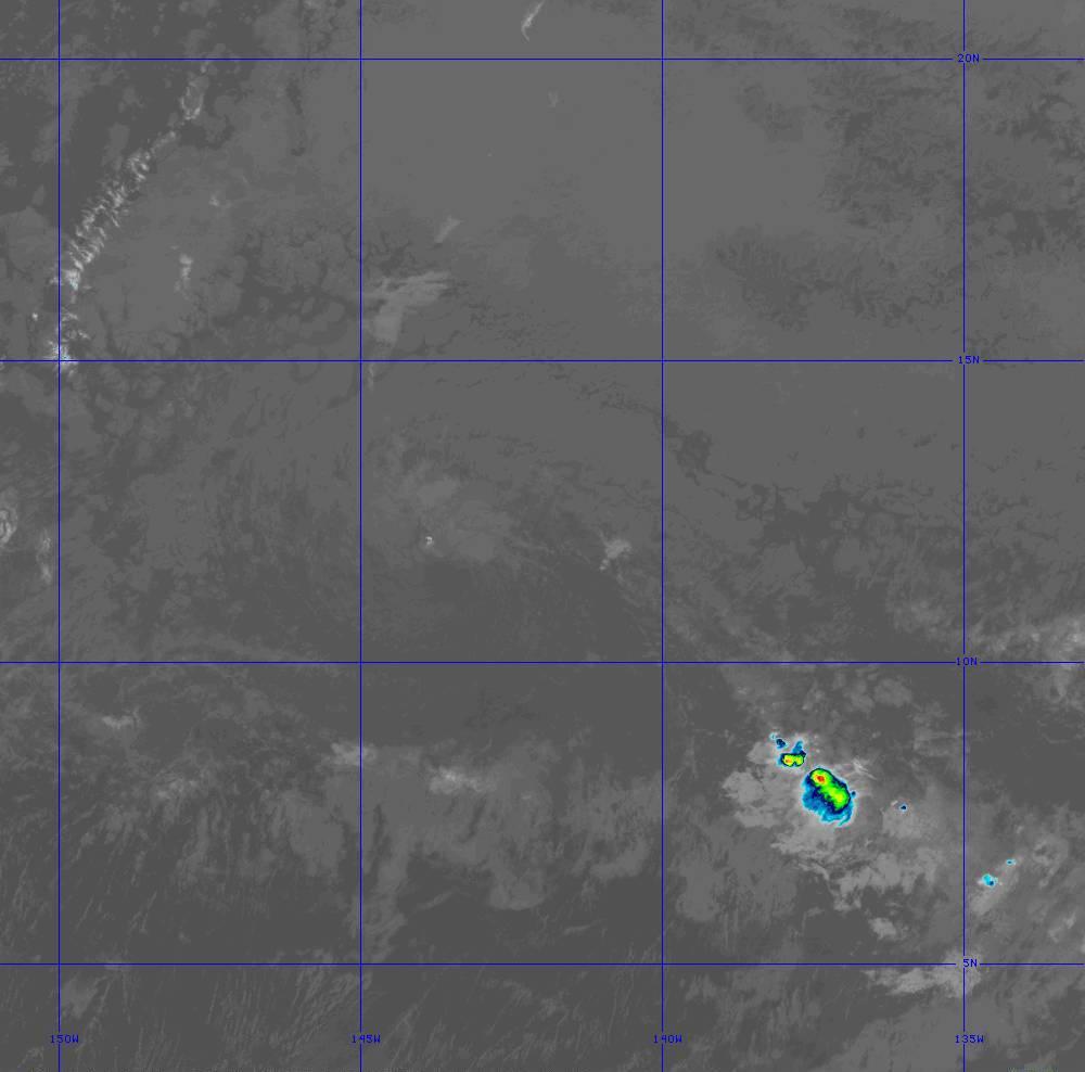 Band 11 - 8.4 µm - Cloud Top - IR - 28 Jun 2020 - 1310 UTC