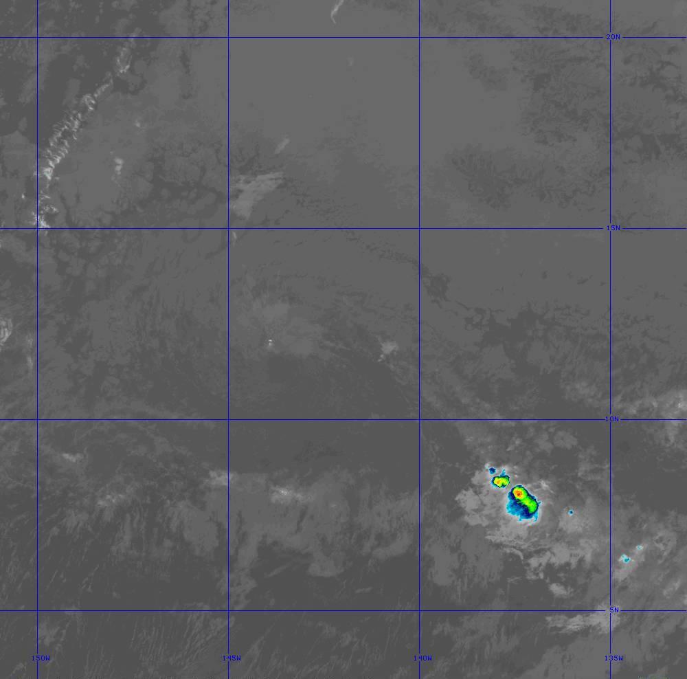 Band 11 - 8.4 µm - Cloud Top - IR - 28 Jun 2020 - 1320 UTC