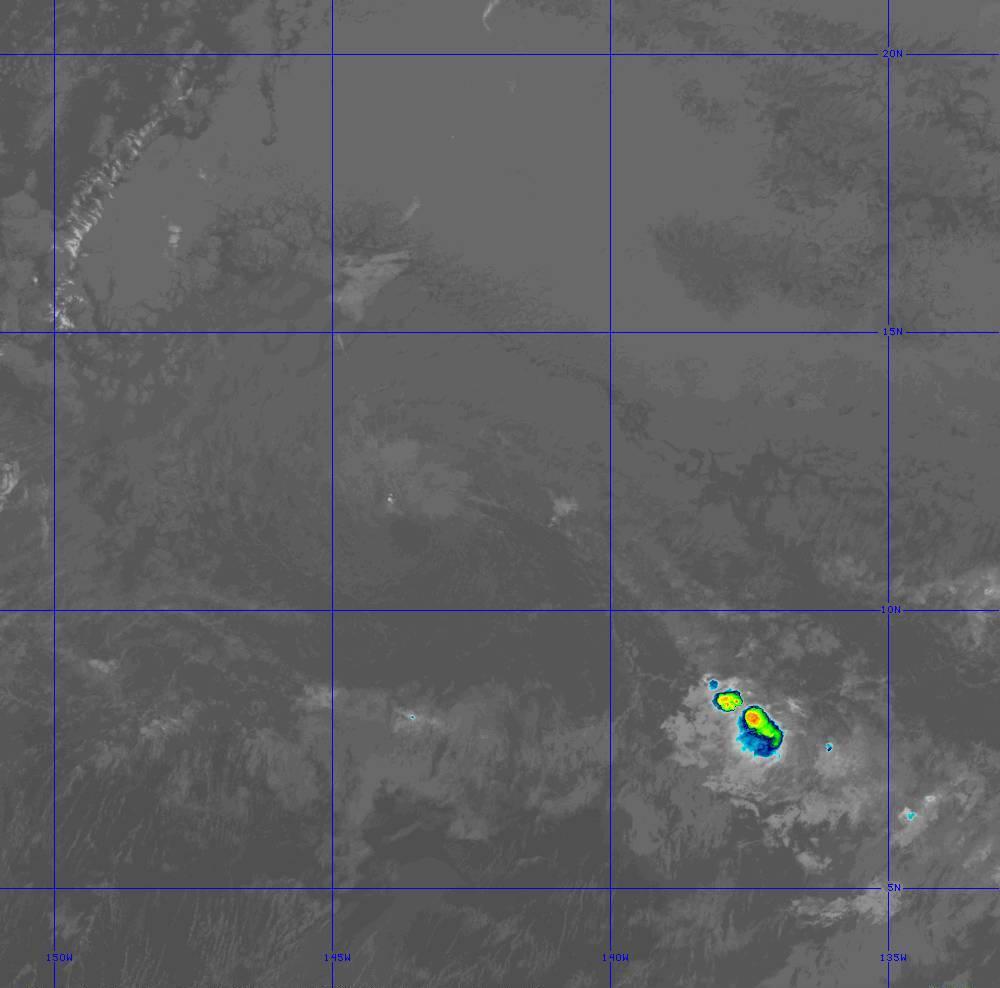 Band 11 - 8.4 µm - Cloud Top - IR - 28 Jun 2020 - 1330 UTC