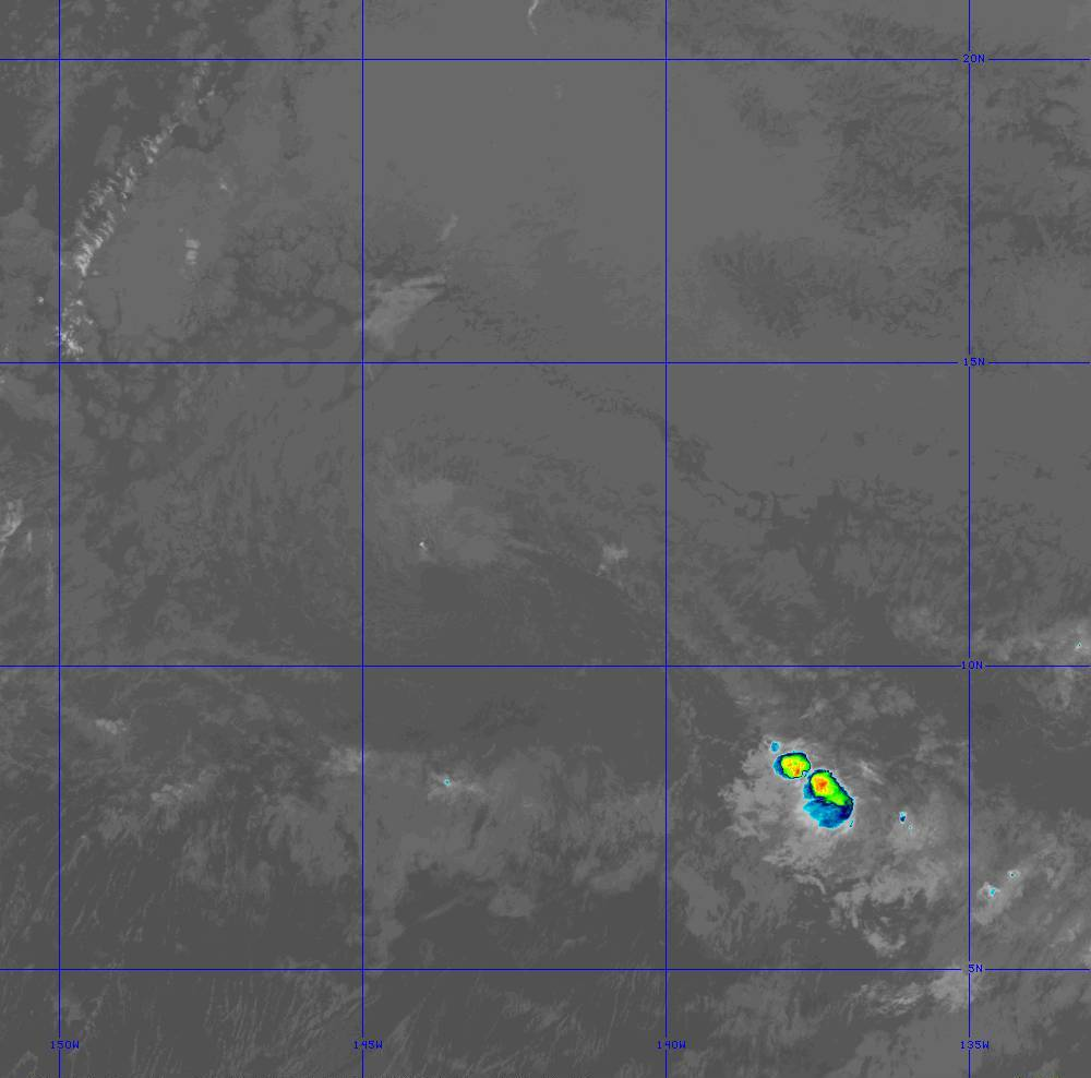 Band 11 - 8.4 µm - Cloud Top - IR - 28 Jun 2020 - 1340 UTC