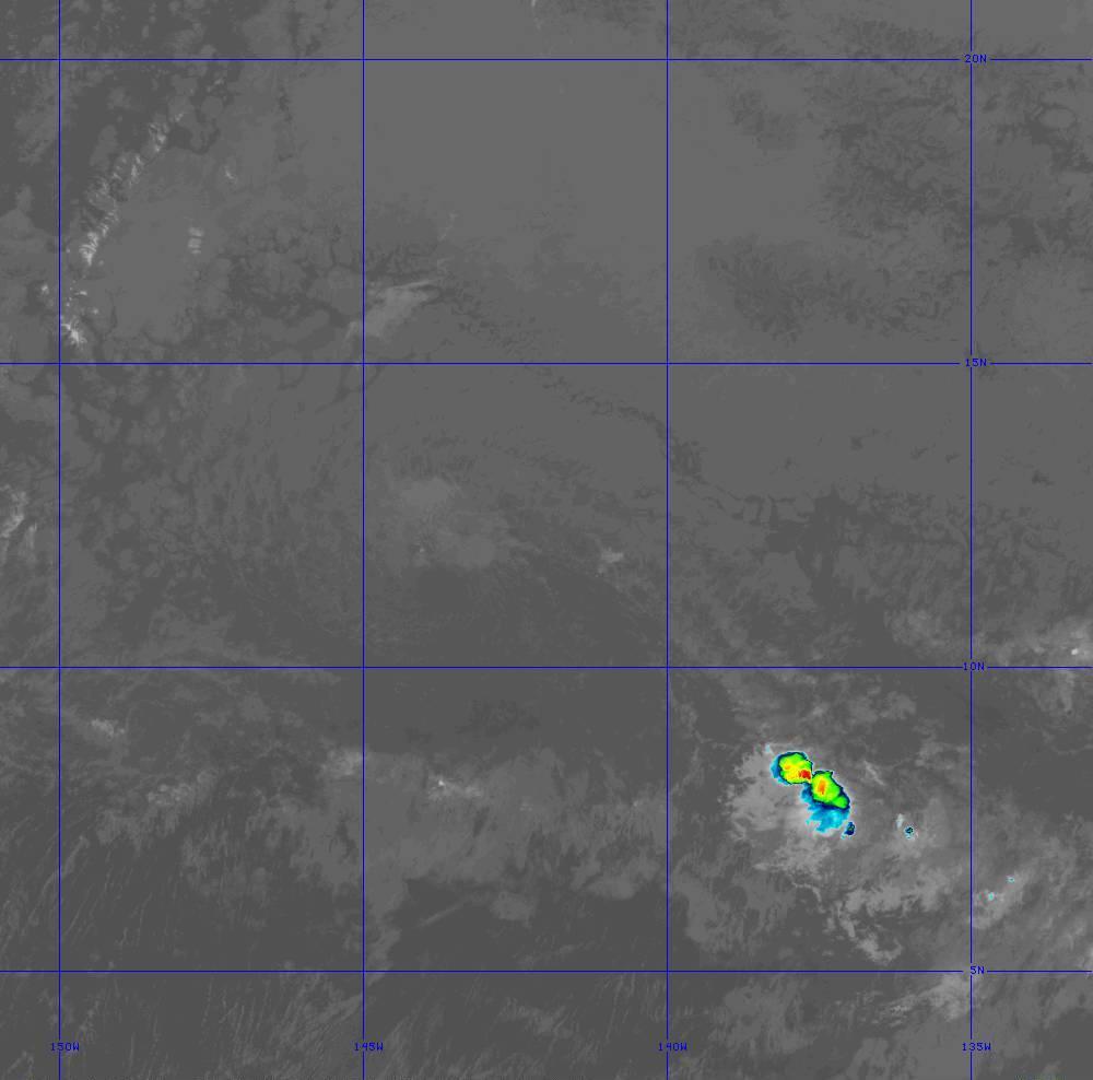 Band 11 - 8.4 µm - Cloud Top - IR - 28 Jun 2020 - 1400 UTC