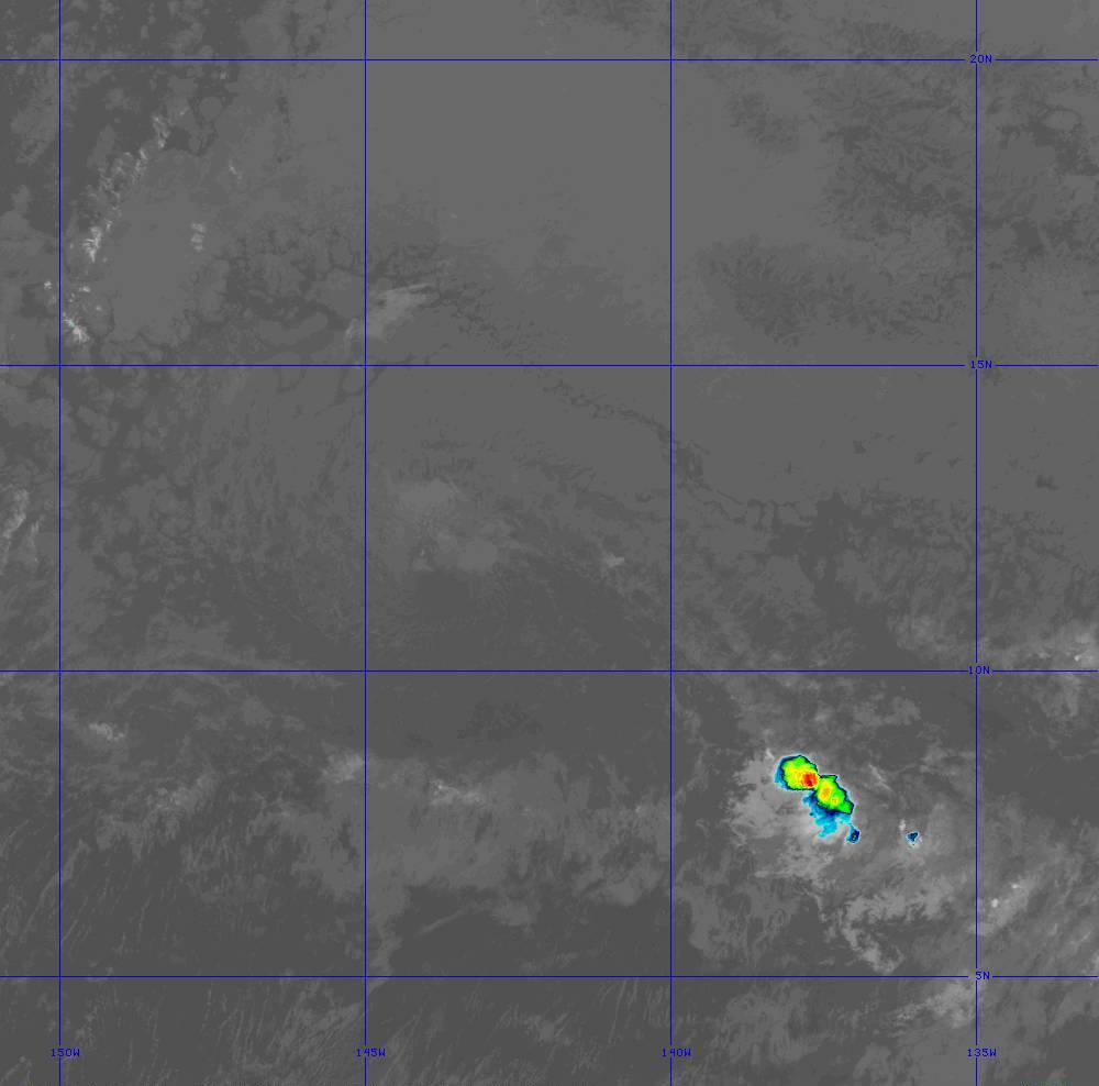 Band 11 - 8.4 µm - Cloud Top - IR - 28 Jun 2020 - 1410 UTC