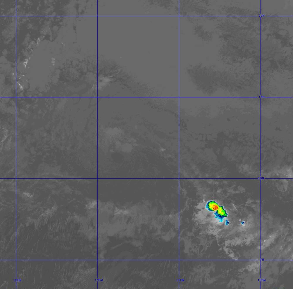 Band 11 - 8.4 µm - Cloud Top - IR - 28 Jun 2020 - 1420 UTC