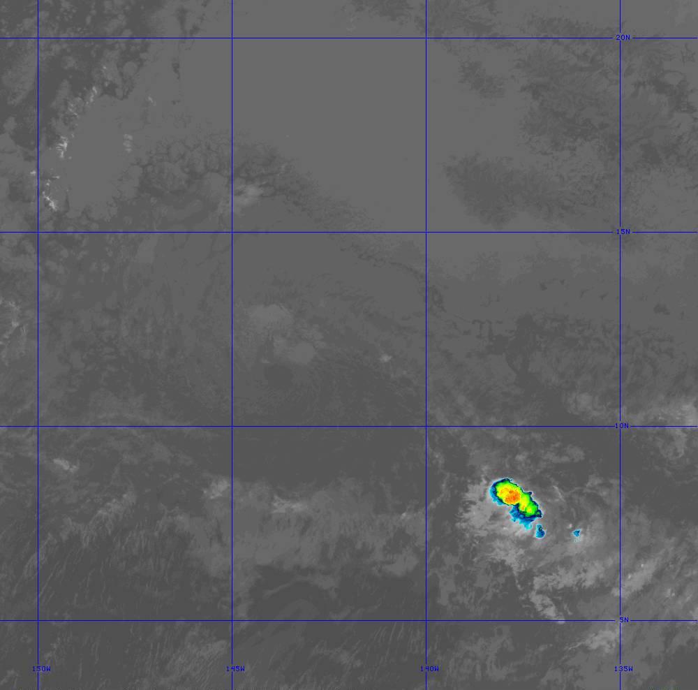 Band 11 - 8.4 µm - Cloud Top - IR - 28 Jun 2020 - 1430 UTC