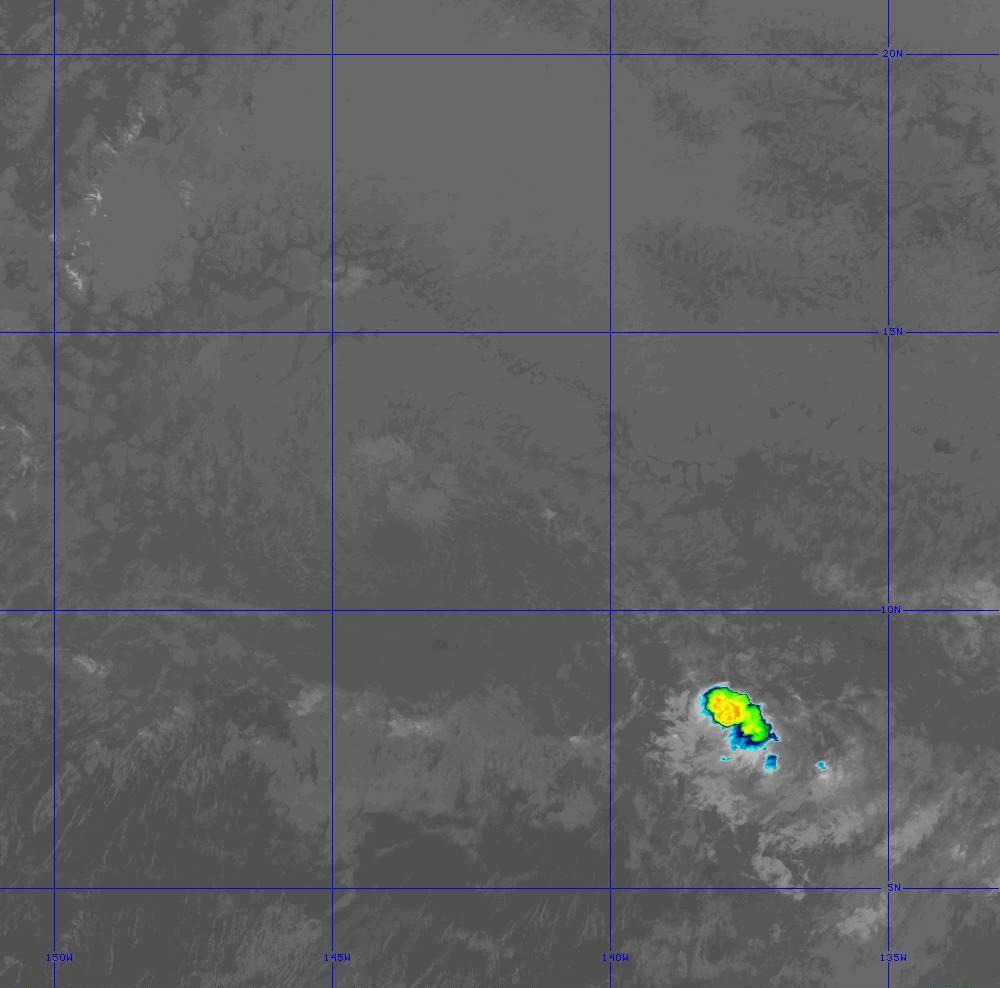 Band 11 - 8.4 µm - Cloud Top - IR - 28 Jun 2020 - 1450 UTC