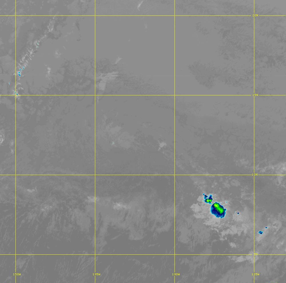 Band 12 - 9.6 µm - Ozone - IR - 28 Jun 2020 - 1310 UTC