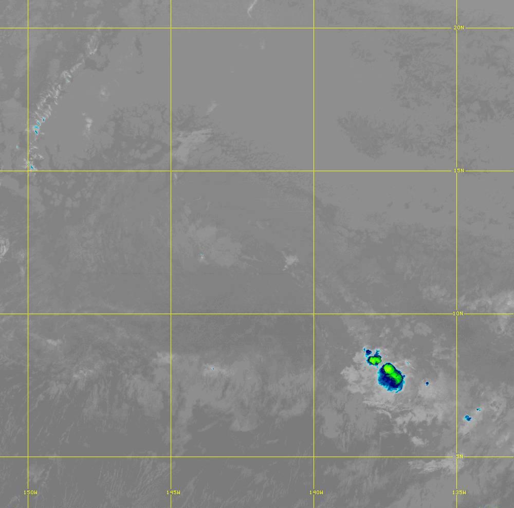 Band 12 - 9.6 µm - Ozone - IR - 28 Jun 2020 - 1320 UTC