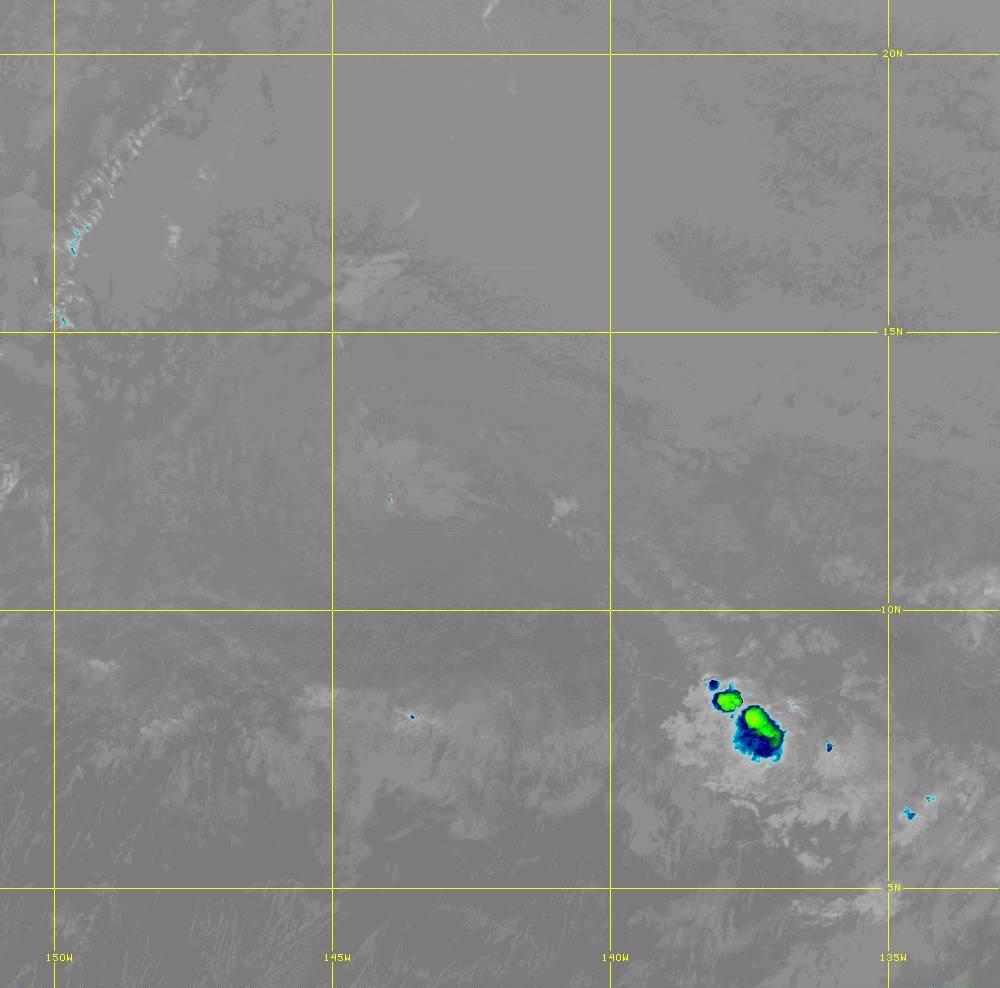 Band 12 - 9.6 µm - Ozone - IR - 28 Jun 2020 - 1330 UTC