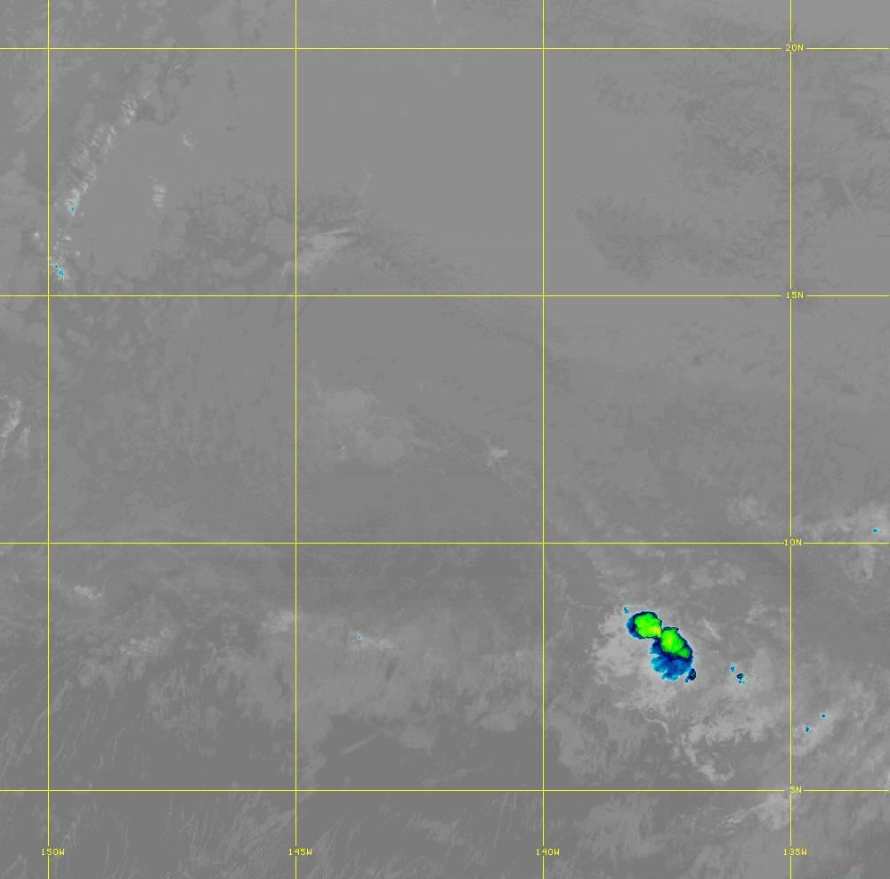 Band 12 - 9.6 µm - Ozone - IR - 28 Jun 2020 - 1400 UTC