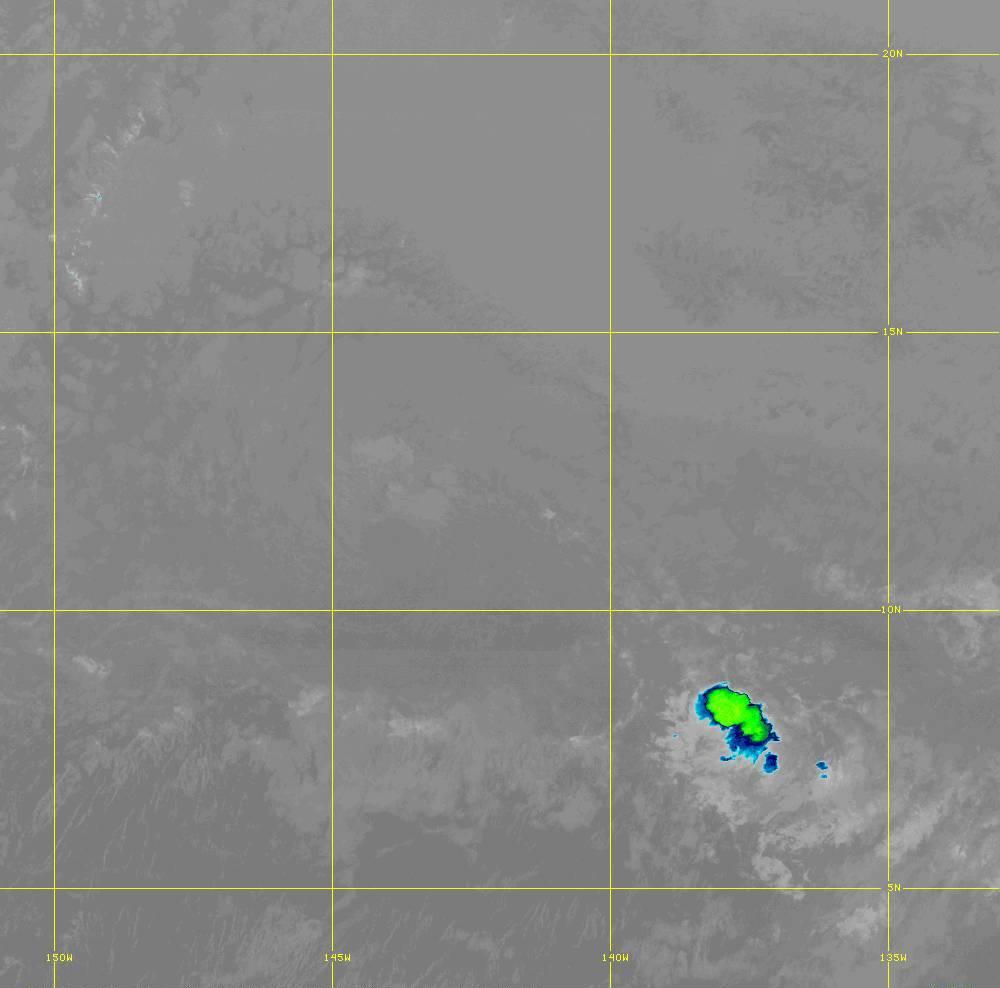 Band 12 - 9.6 µm - Ozone - IR - 28 Jun 2020 - 1450 UTC